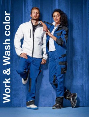WORKWEAR - WORK&WASH COLOR